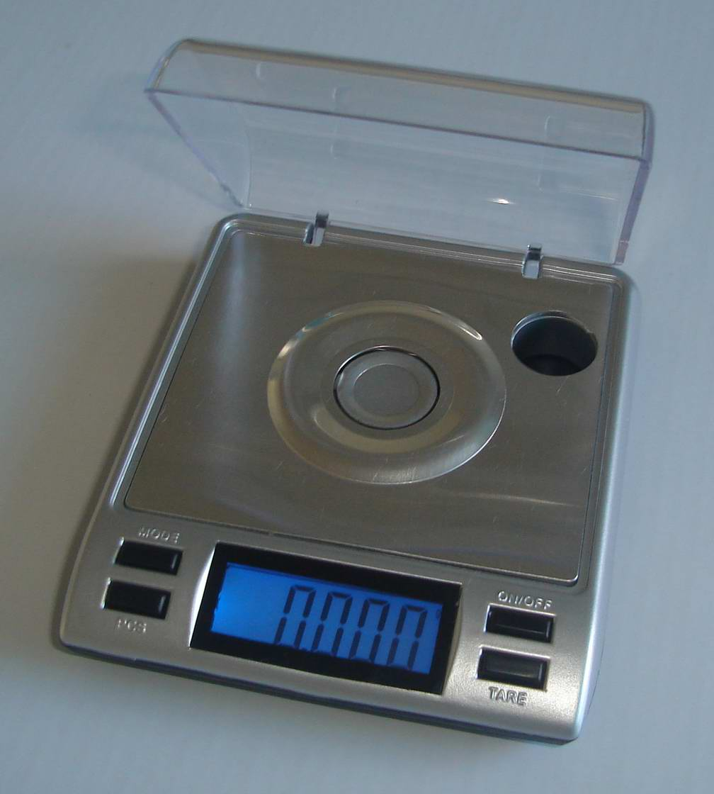 Pocket scale digital