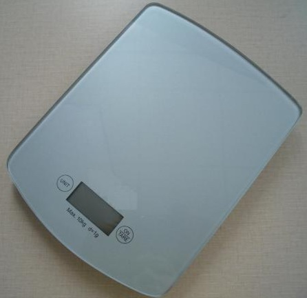 Slim&touch screen digital  kitchen scale 10kg