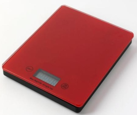 Slim&touch screen food scale