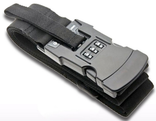 Coded lock luggage scale
