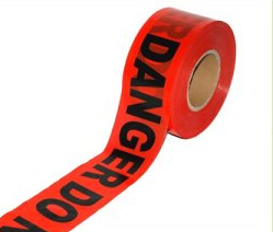Warning tape caution tape