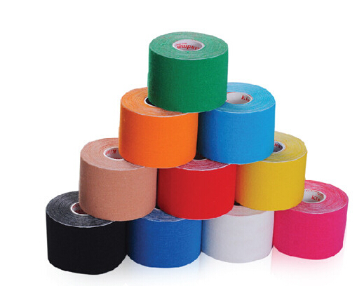 Colorful Muscle Kinesiology Sports Tape